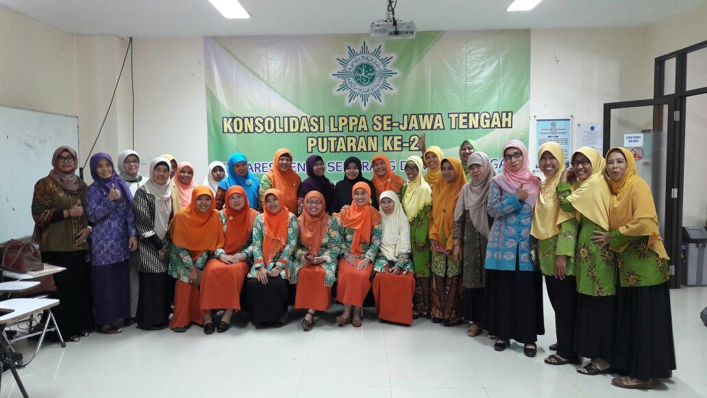 Konsolidasi LPPA Karesidenan Pekalaongan dan Semarang, ahad 5 Februari 2017 di UNIMUS Semarang